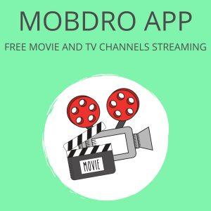 Mobdro Apk