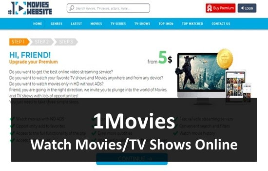 1Movies - Online Streaming Website