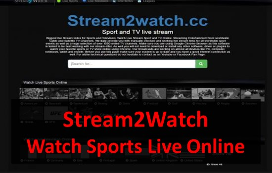 Stream2Watch - Live Sports Streaming