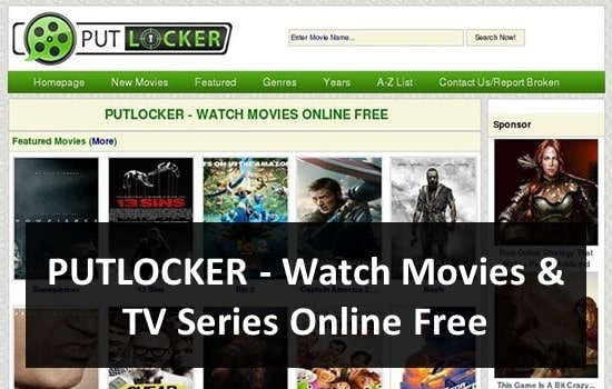 PUTLOCKER - Watch Movies and TV Series Online Free