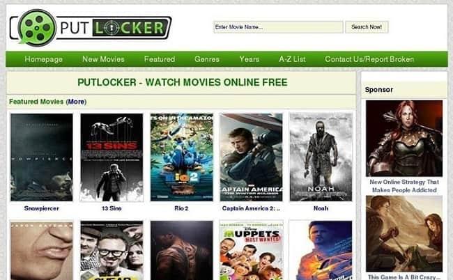 Putlocker Website